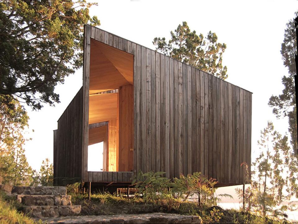 Lakefront Sauna by Panorama Arquitectos 4