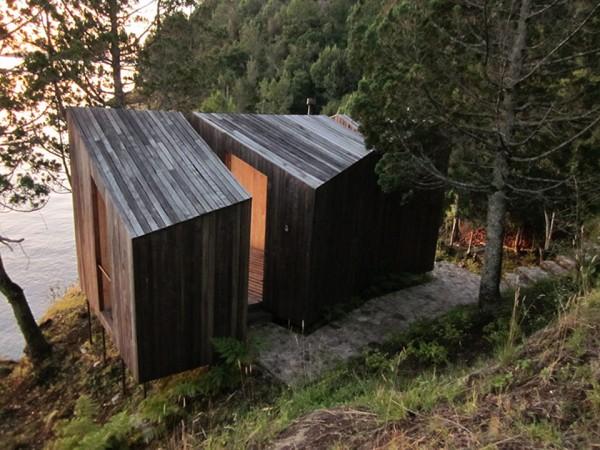 Lakefront Sauna by Panorama Arquitectos 5