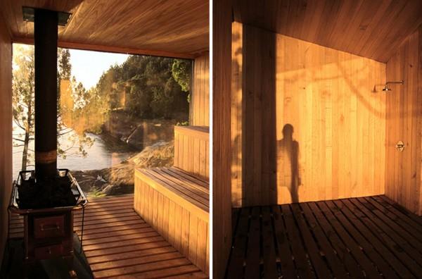 Lakefront Sauna by Panorama Arquitectos 7