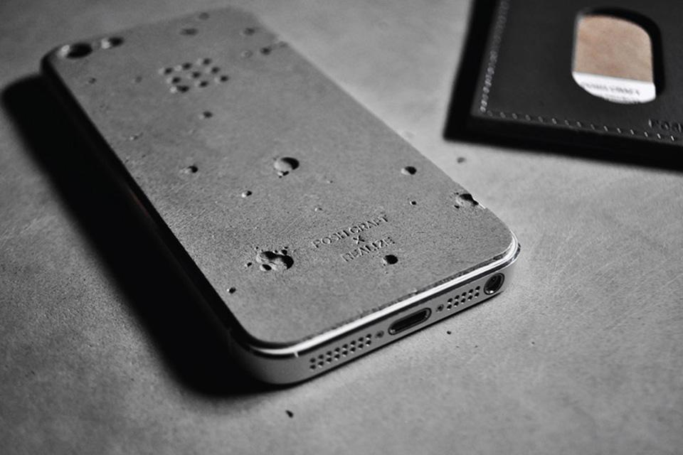 Luna Concrete iPhone Case 3