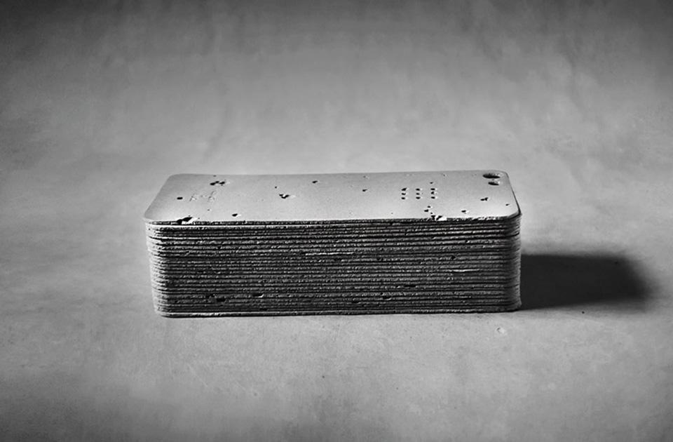 Luna Concrete iPhone Case 5