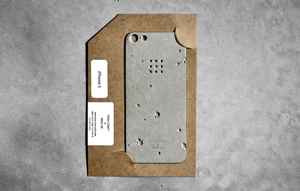 Luna Concrete iPhone Case 8