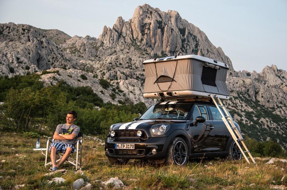 Mini Clubvan Camper Concept