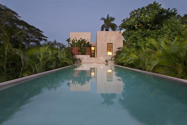 Bacoc Hacienda by Reyes Rios and Larrain Arquitectos 9 600x400 Bacoc Hacienda   Yucatan Peninsula
