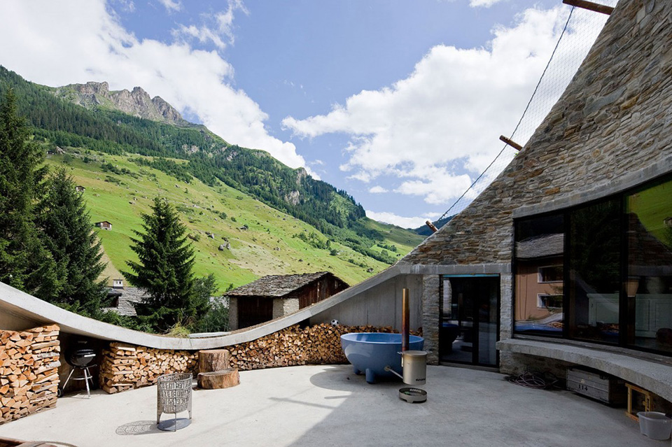 Cave House – Switzerland by CMA and SeARCH 2