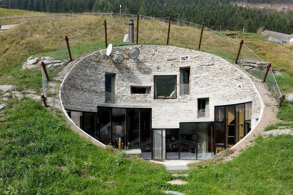 Cave House – Switzerland by CMA and SeARCH 3