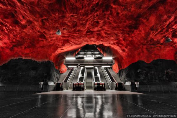 Cave Subway - Sweden by Alexander Dragunov 1
