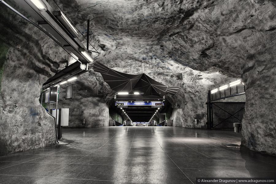 Cave Subway – Sweden by Alexander Dragunov 5