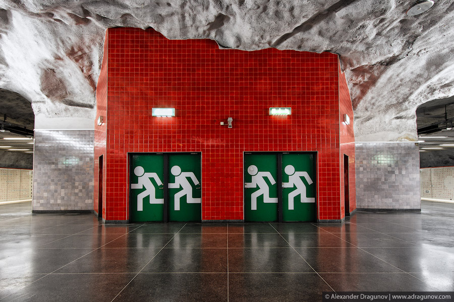 Cave Subway – Sweden by Alexander Dragunov 6