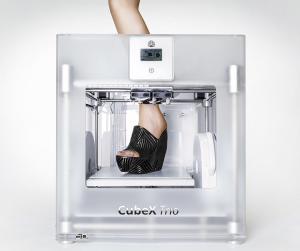 Cubify 3D Printed Shoes by Janne Kyttanen 3