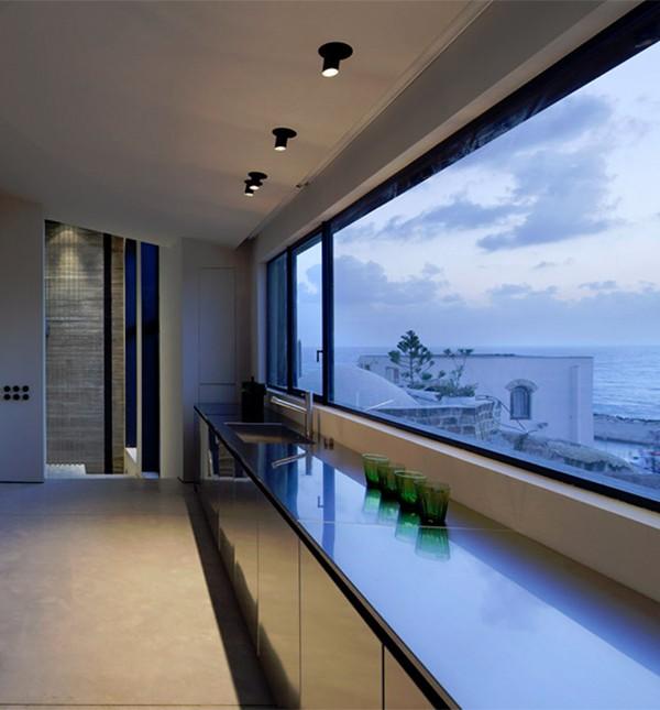 Jaffa House Israel by Pitsou Kedem Architects 13 600x645 Factory Jaffa House   Israel