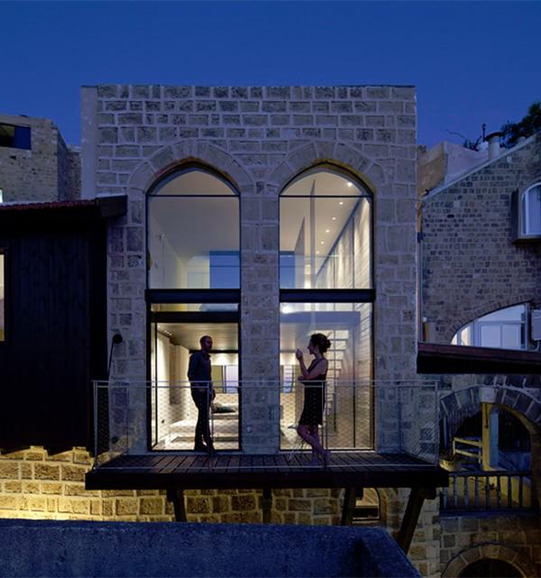 Jaffa House Israel by Pitsou Kedem Architects 5 600x641 Factory Jaffa House   Israel