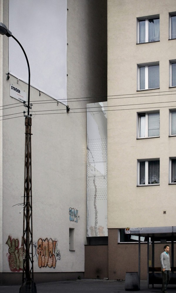 Keret House Worlds Thinnest House 2 600x999 The Worlds Thinnest House   Keret House