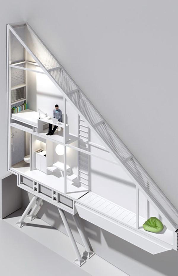 Keret House - World's Thinnest House 7