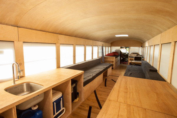 Restored Bus Mobile Home by Hank Butitta 1 600x400 Restored Bus Mobile Home by Hank Butitta