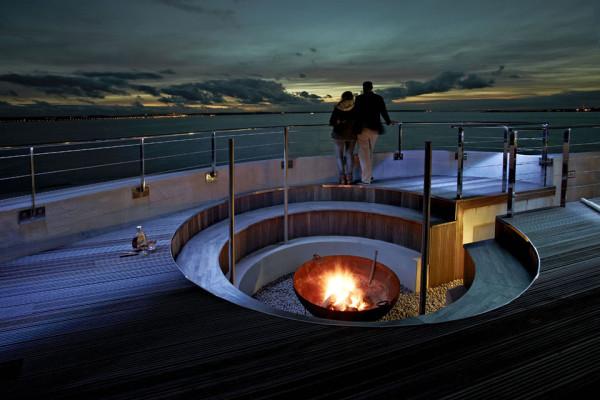 Spitbank Fort Sea Hotel 14
