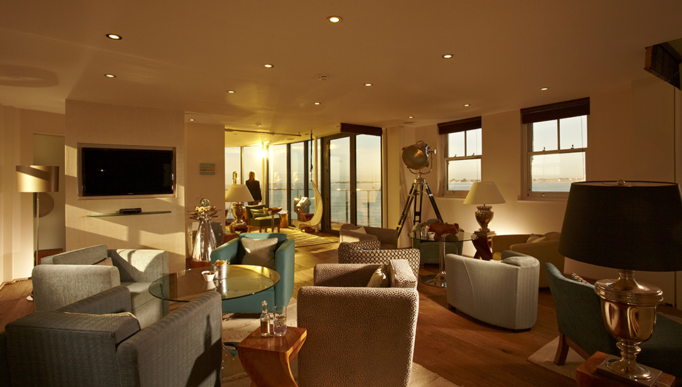 Spitbank Fort Sea Hotel 16