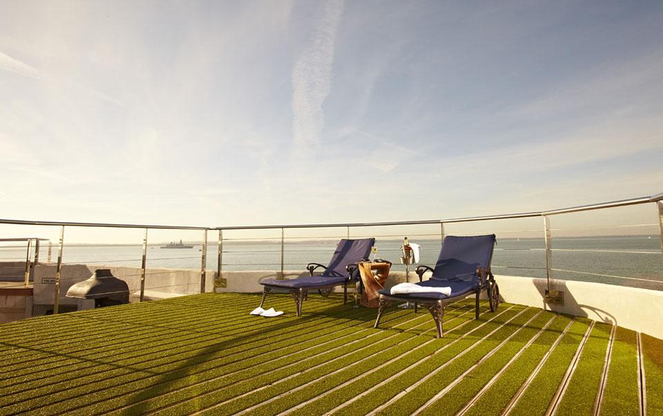 Spitbank Fort Sea Hotel 3