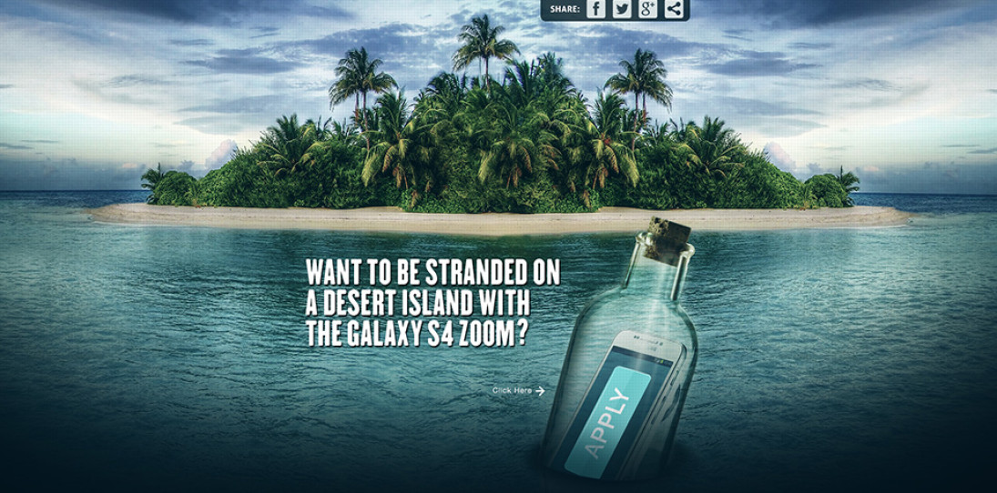 "Win Your Own Private Paradise Through Samsung's ""SOS Island"""