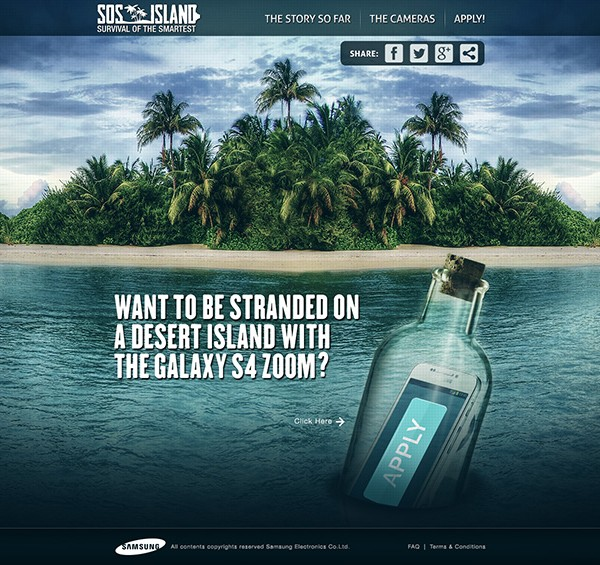 "TI landingPage 16 600x565 Win Your Own Private Paradise Through Samsung's ""SOS Island"""