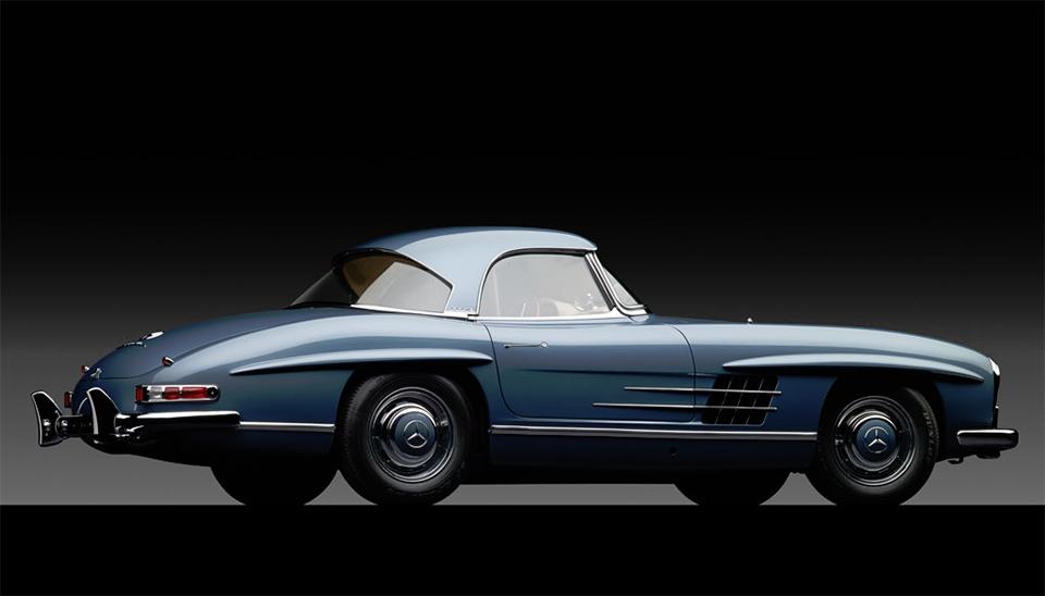 1960 Mercedes-Benz 300 SL Roadster 2