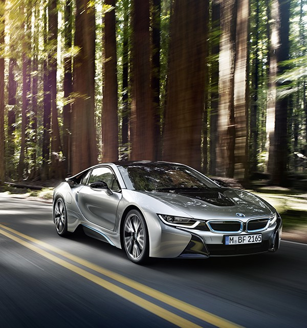 BMW i8 Plug in Electric Sports Car 9 600x641 BMW i8 Plug in Hybrid Sports Car Officially Revealed