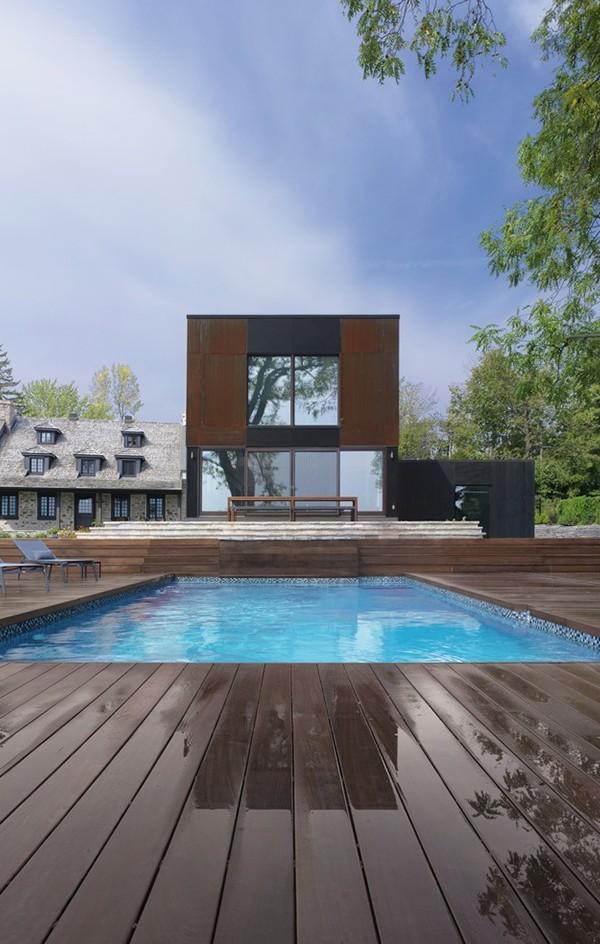 Bord du Lac House by Henri Cleinge 8 600x944 Bord du Lac House by Henri Cleinge