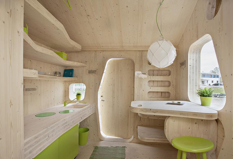 Prefab Student House by Tengbom Architects 1