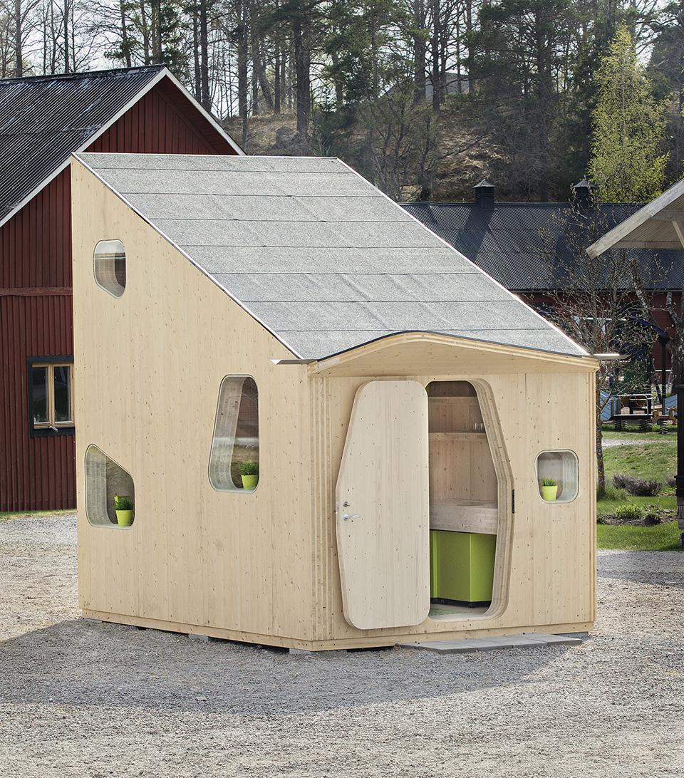 Prefab Student House by Tengbom Architects 2