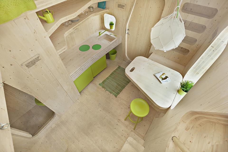 Prefab Student House by Tengbom Architects 4