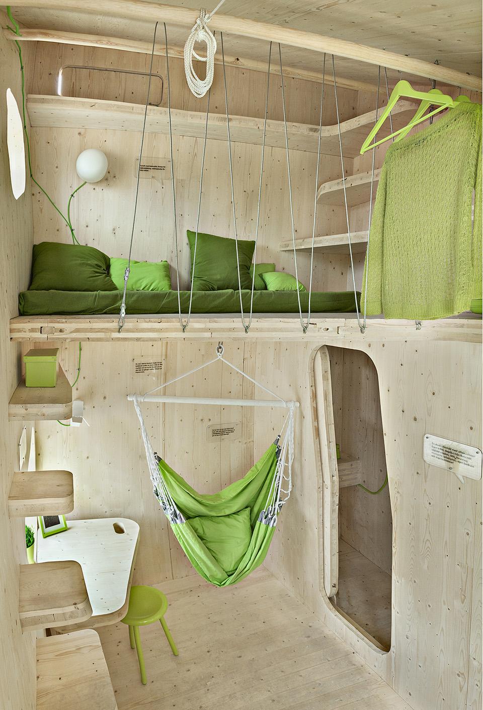 Prefab Student House by Tengbom Architects 5