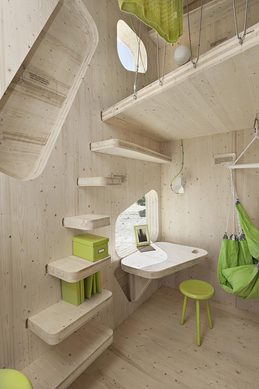 Prefab Student House by Tengbom Architects 6