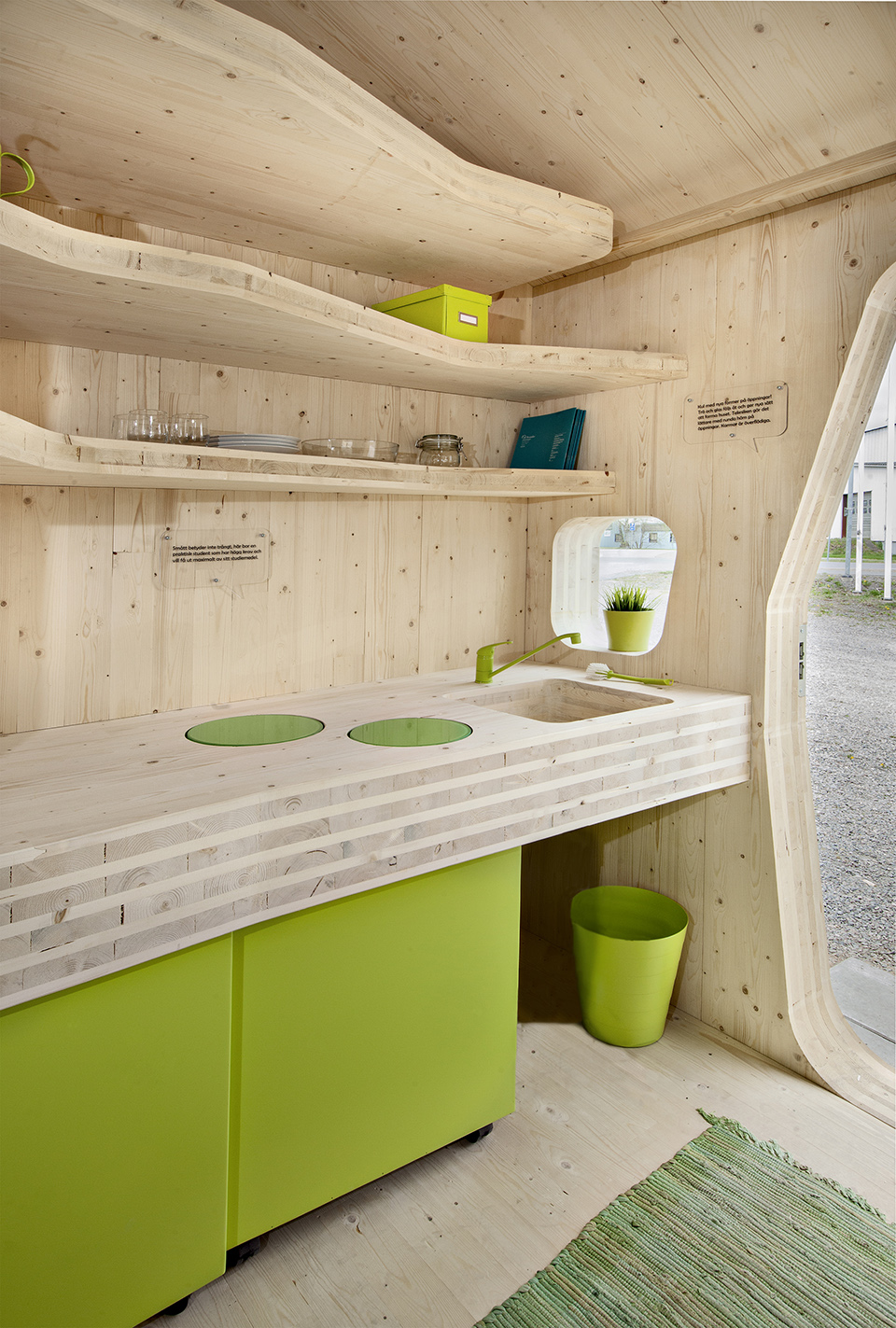 Prefab Student House by Tengbom Architects 8