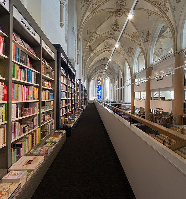 Waanders In de Broeren Book Store by BK Architecten 10 600x641 Waanders In de Broeren Book Store