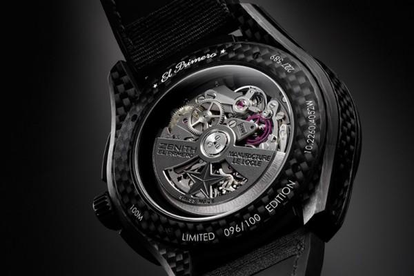 Zenith El Primero Lightweight Watch 2 600x400 Zenith El Primero Lightweight Watch