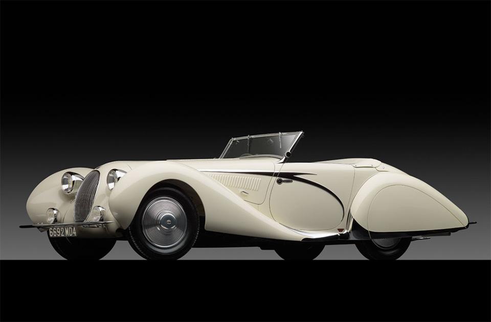1936 Talbot Lago T150C Cabriolet 1
