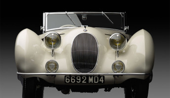 1936 Talbot Lago T150C Cabriolet front end