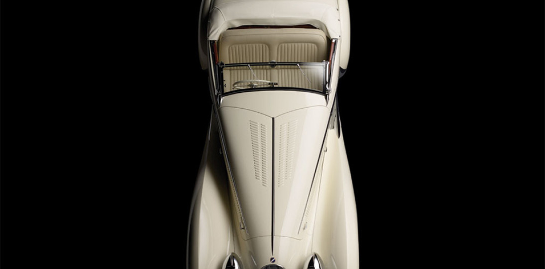 1936 Talbot Lago T150C Cabriolet by Figoni & Falaschi