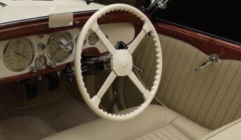 1936 Talbot Lago T150C Cabriolet interior