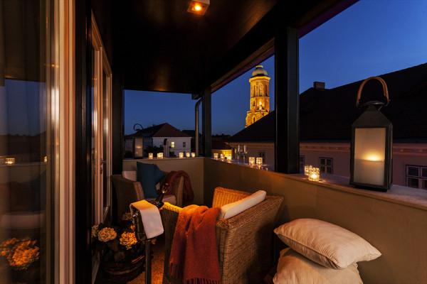 Baltazar Budapest Hotel Balcony