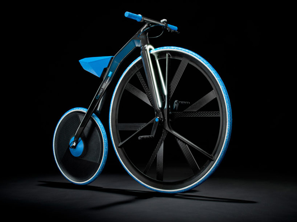 Concept 1865 Electric Bike by BASF and ding3000 2