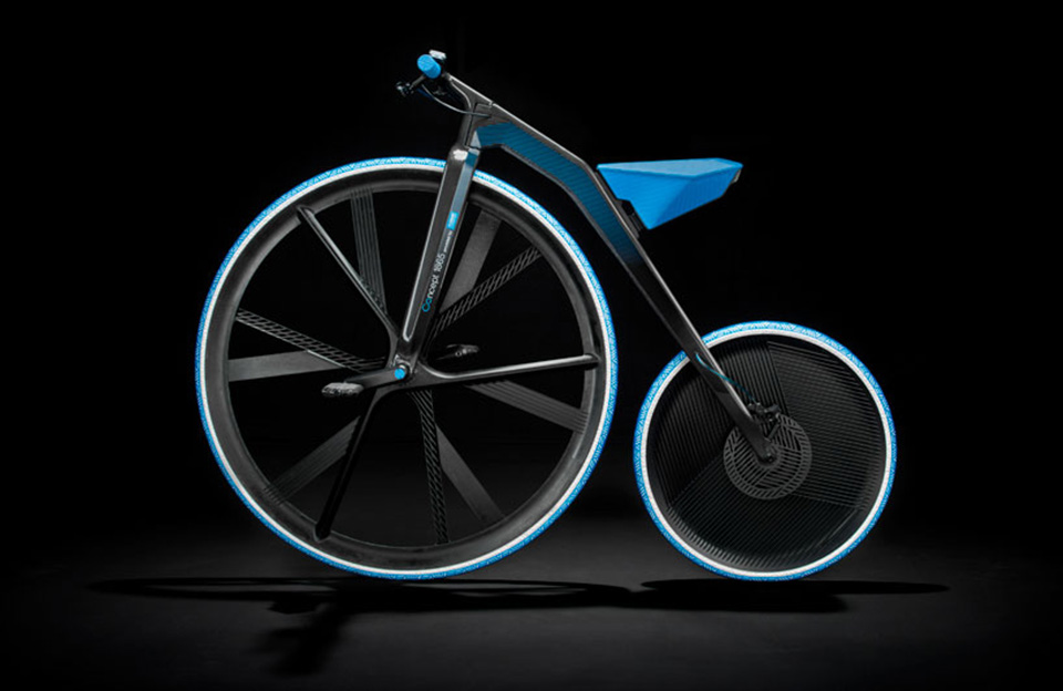 Concept 1865 Electric Bike by BASF and ding3000 3