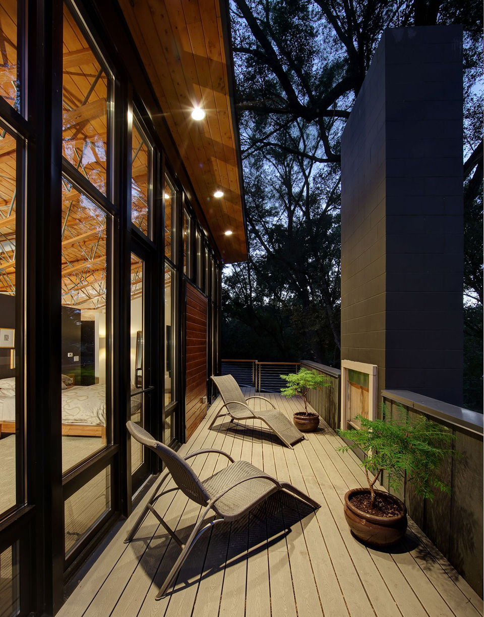 Midvale Courtyard House by Bruns Architecture 7
