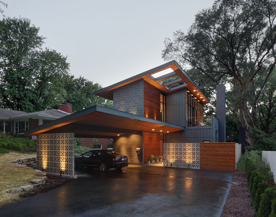 Midvale Courtyard House by Bruns Architecture 9
