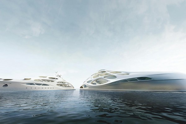 Zaha Hadid Superyachts for Blohm and Voss 2 600x400 Zaha Hadid Superyachts for Blohm and Voss