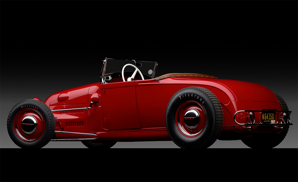1929 Ford 'Dick Flint' Roadster 2