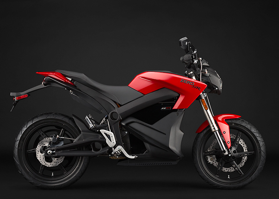 2014 Zero SR Electric Motorcycle 1