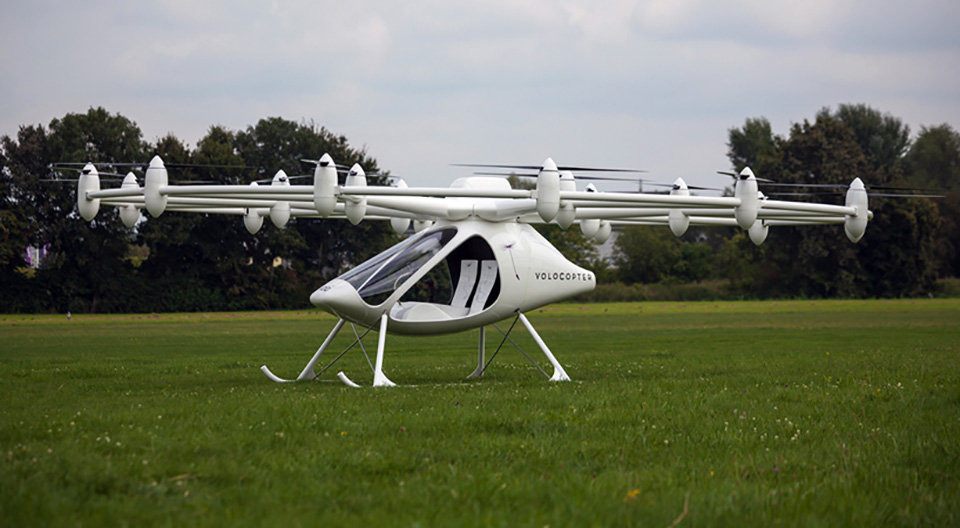 E-Volo Electric 18 Rotor Helicopter 1