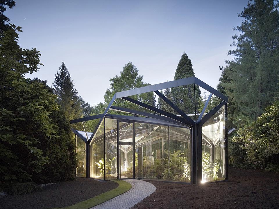 Greenhouse Botanical Garden - Grueningen