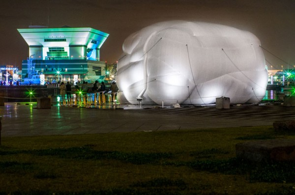 Net Blowup by Numen and ForUse 6 600x397 Net Blow Up   Installation Playspace